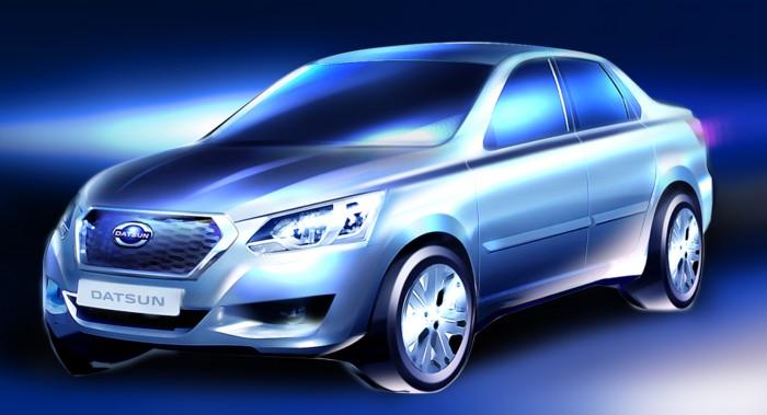 first Russian Datsun production model