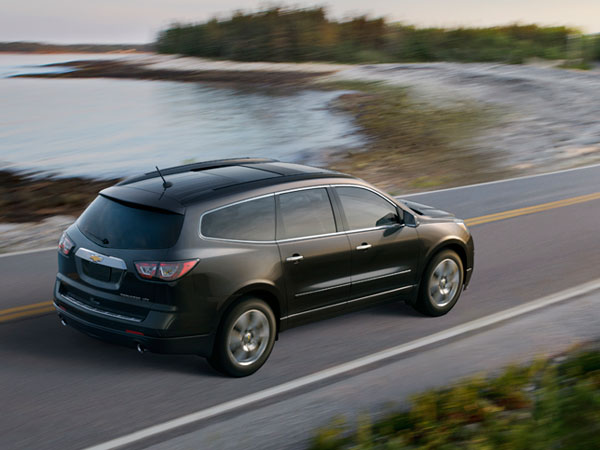 2013 Chevrolet Traverse Overview