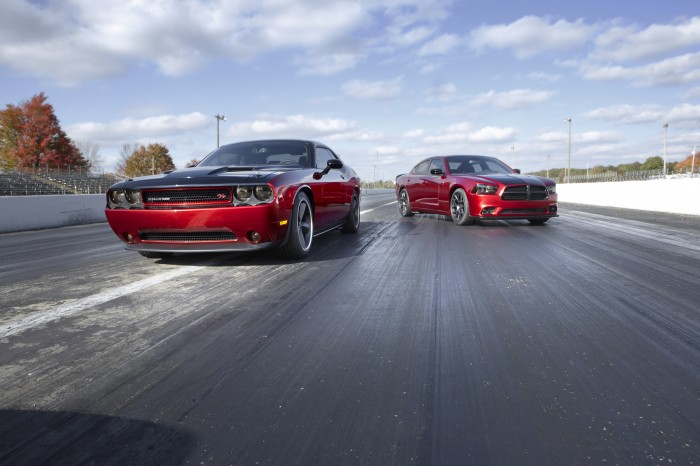 2014 Dodge Challenger R/T with Scat Package 3 and 2014 Dodge Cha