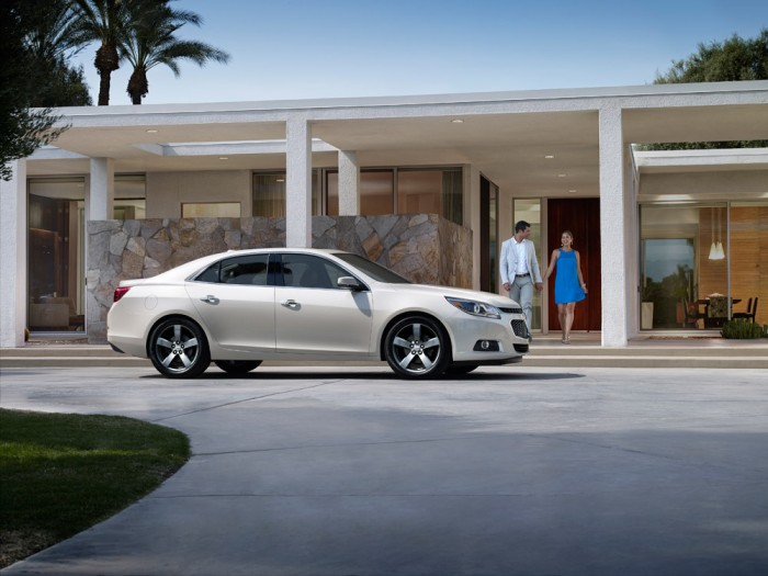 The Insurance Institute for Highway Safety has named the 2014 Chevy Malibu a Top Safety Pick+.