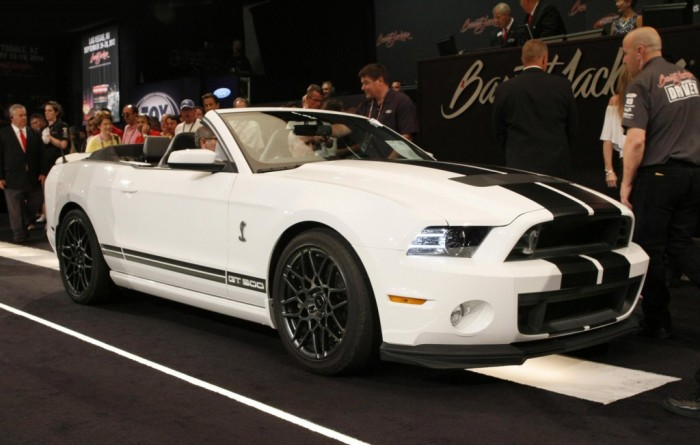 2017 Ford Mustang Shelby Gt500 Convertible