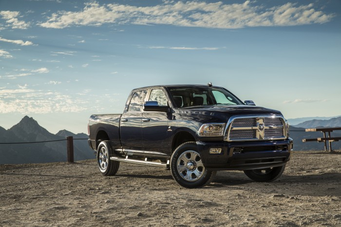 Chrysler Group Vehicles earn Edmunds awards - Ram 2500 HD