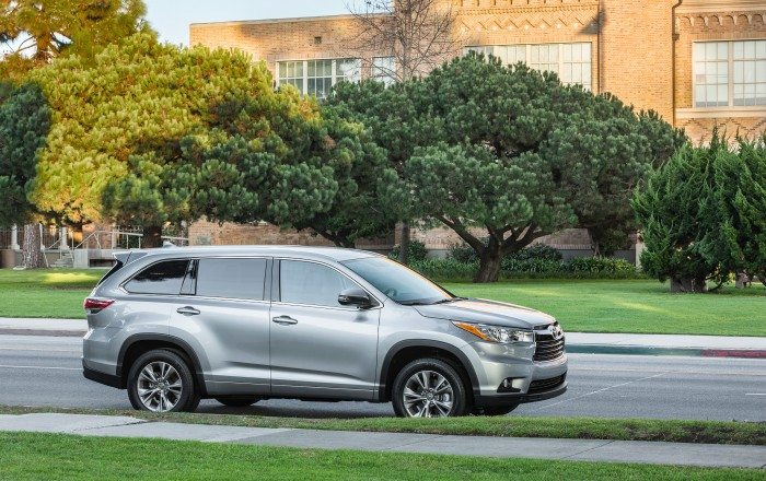 2014 Toyota Highlander - Toyotas top rated