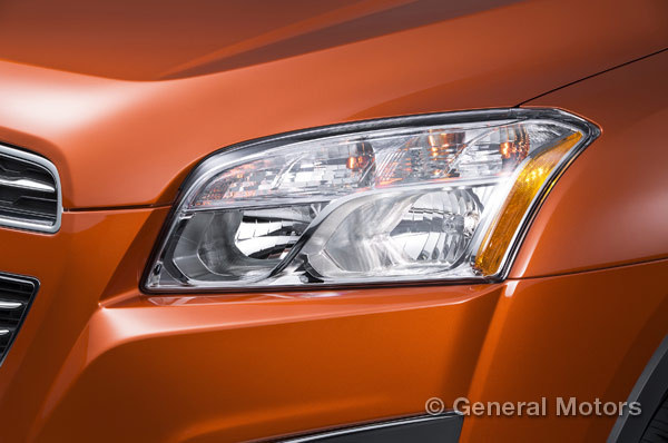 2015 Chevy Trax headlight