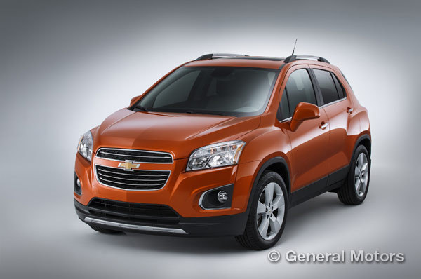 Chevy's small cars - Trax