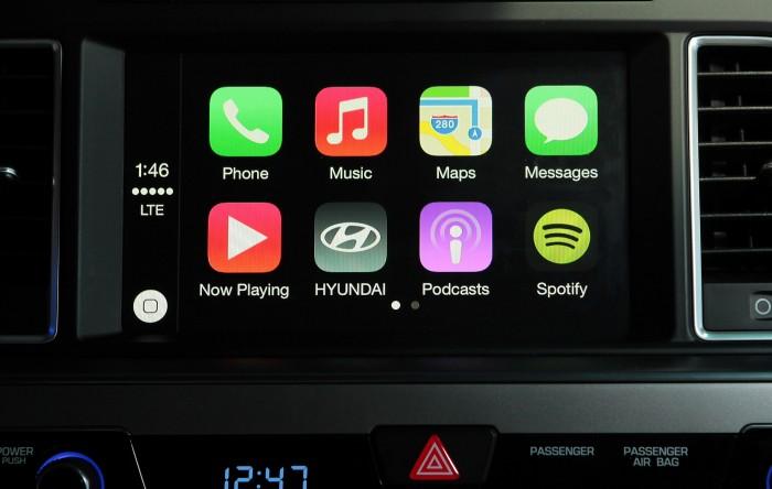 2015 Sonata with Apple CarPlay