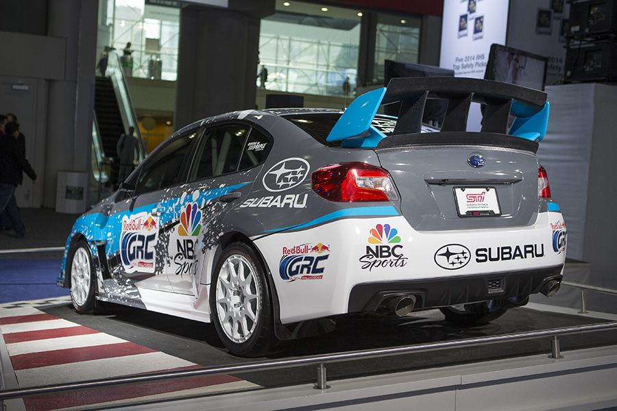 2015 Subaru Rallycross STI Debuts in New York - The News Wheel