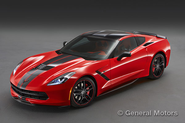 2015 Corvette Design Packages - Pacific