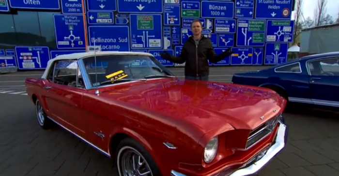Amazing Race Ford Mustang