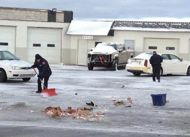 Armored Van Crashes
