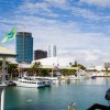 Getting around in Miami involves deep sea fishing, swimming, and refreshing moments on the beach.
