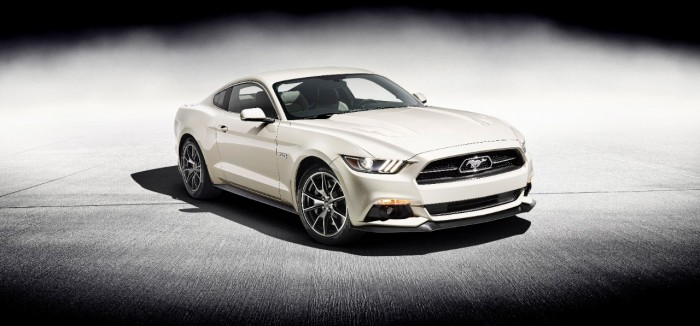 First 50 Year Limited Edition Mustang