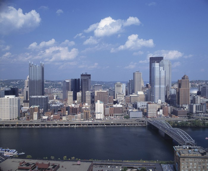 Pittsburgh, one of the most glaring examples of our nation's crumbling American infrastructure