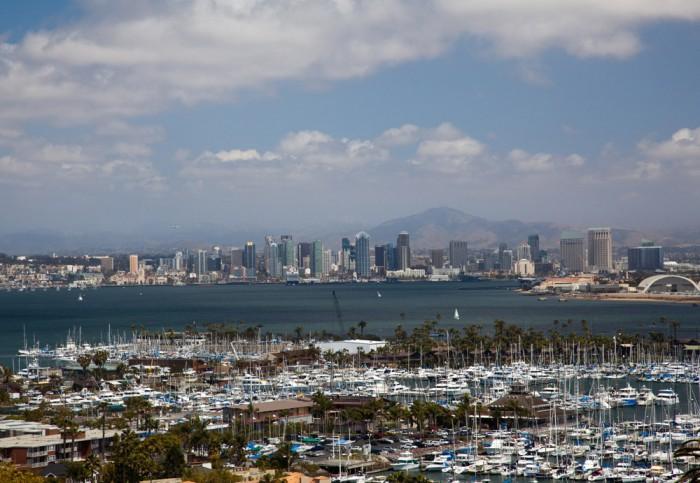 getting around in San Diego