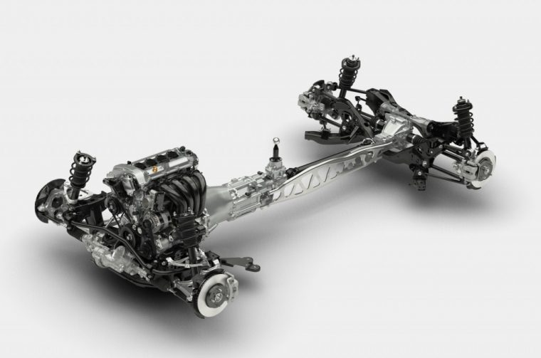 SkyActiv Chassis for the 2016 Mazda MX-5 Miata