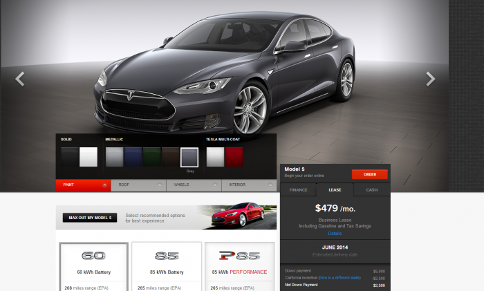 Tesla Business Leasing