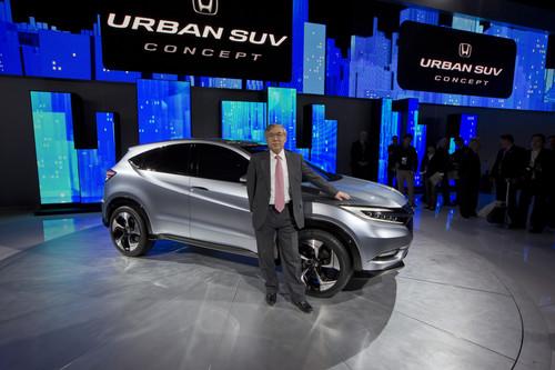 Urban SUV Concept Slated for U.S. Production, Likely Named Honda HR-V