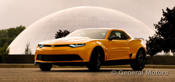 The Camaro stars in Transformers: Age of Extinction