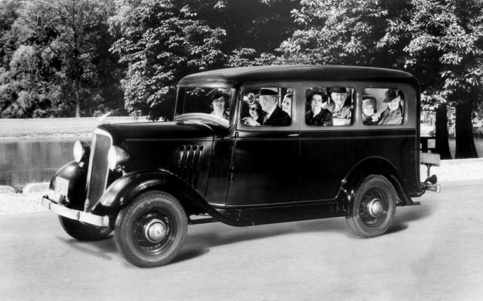 1935 Chevy Suburban