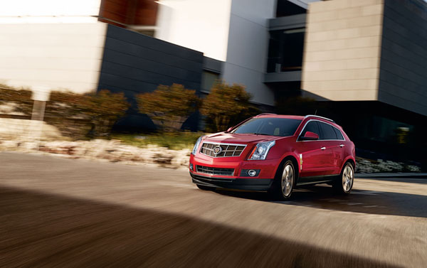 2013 Cadillac SRX crossover overview
