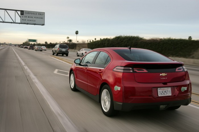 Volt drivers log half a billion electric miles.