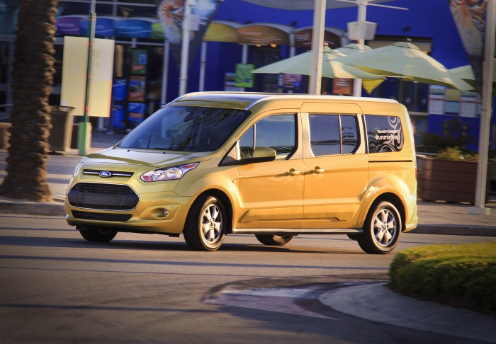 Ford Transit Connect Wagon minivan sales