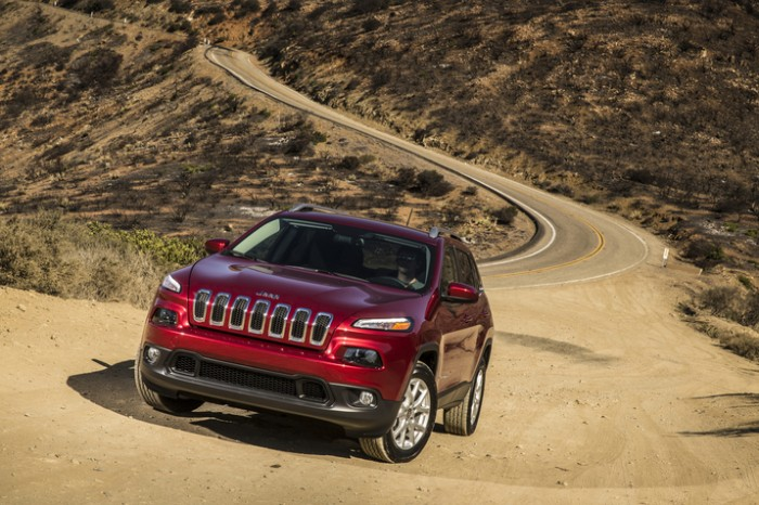 Chrysler Group's August 2014 sales benefited greatly from the Jeep Cherokee.