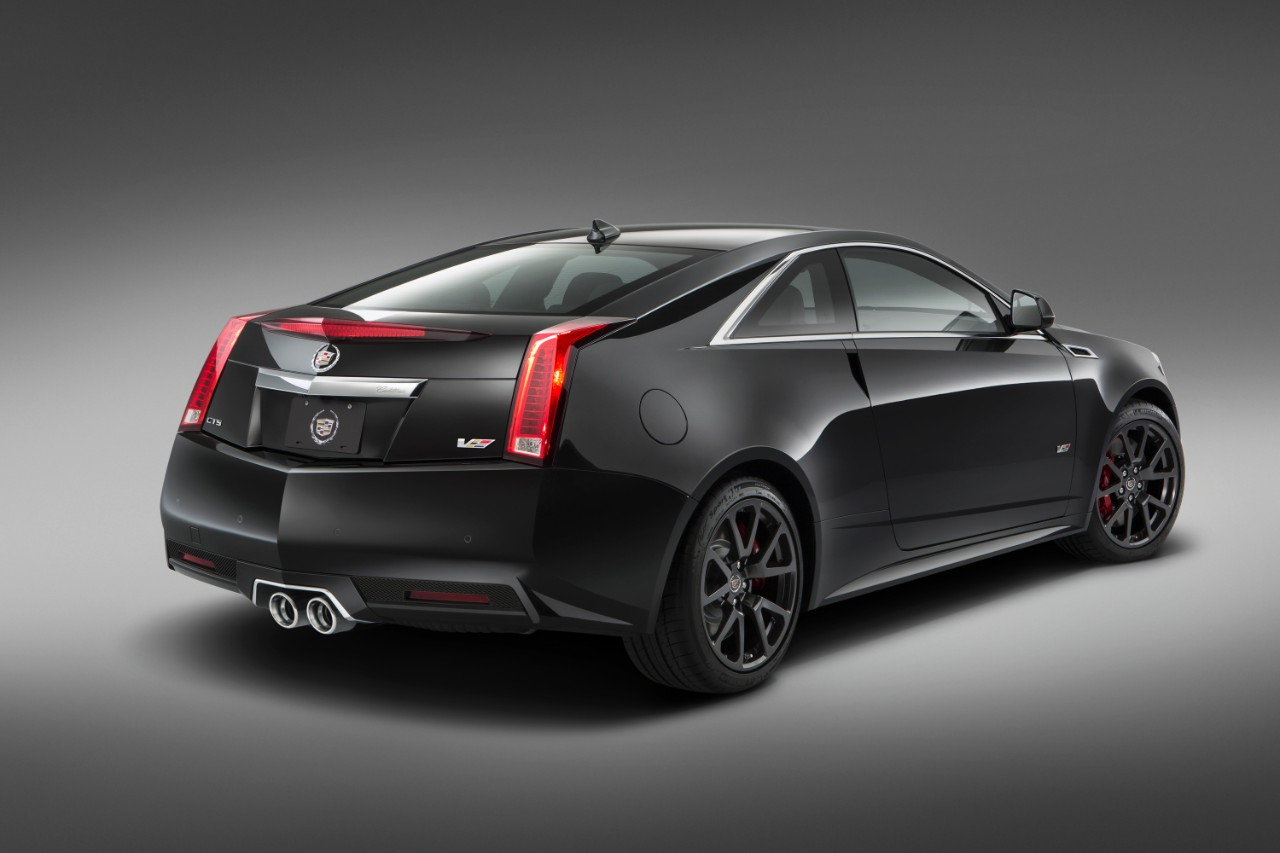 Updates for the 2015 Cadillac CTS-V Coupe