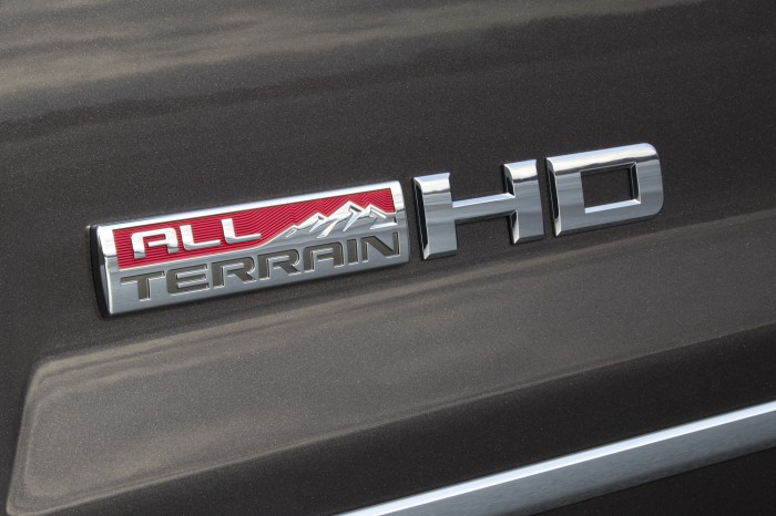 2015 Sierra HD All Terrain logo