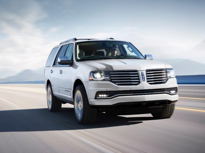 2015 Lincoln Navigator pricing