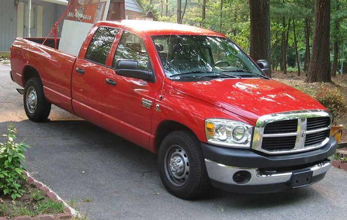 This 2006 Dodge Ram 2500 is among the models included in the full list of affected vehicles in the Takata airbag recall