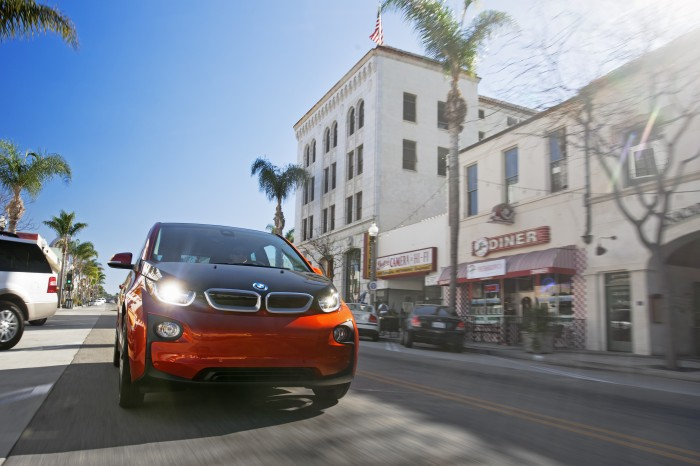 The All-Electric BMW i3.
