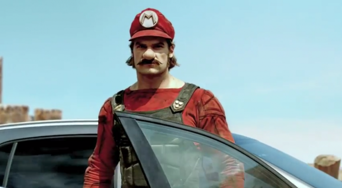 Mario Mercedes Commercial