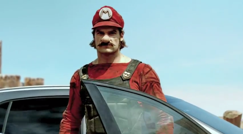 How To Buff A Car >> Sexy Mario Mercedes Commercial is Weird - The News Wheel