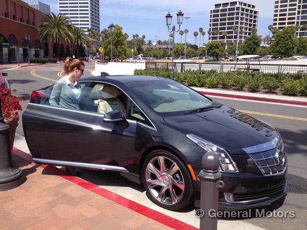 Cadillac ELR Test Drives