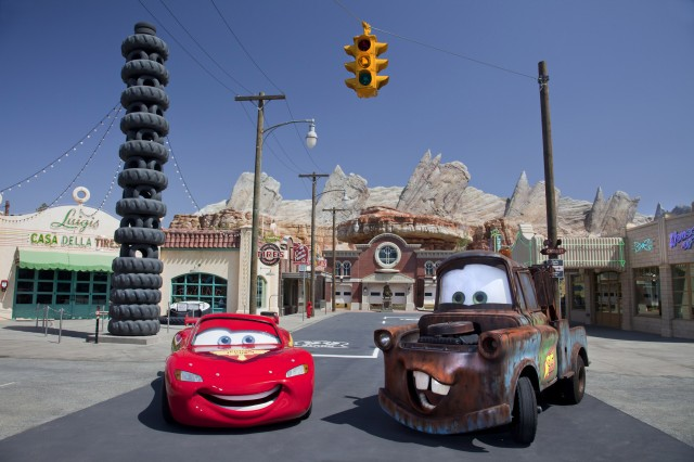 Cars Land Disneyland