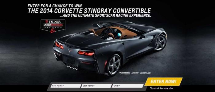 Corvette Stingray Sweepstakes