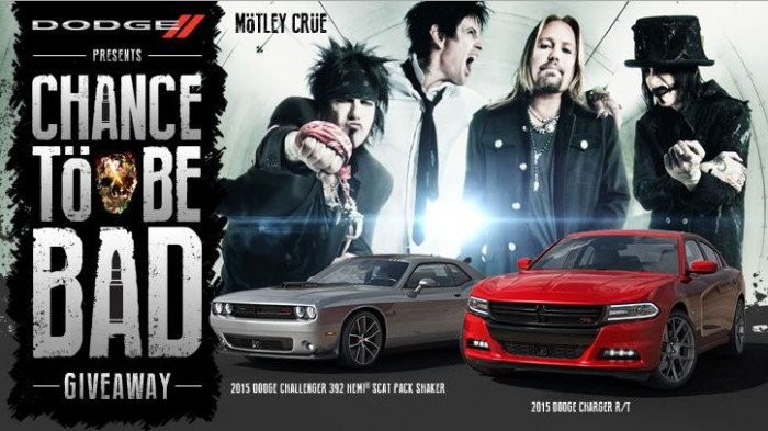 Dodge Chance to Be Bad Sweepstakes