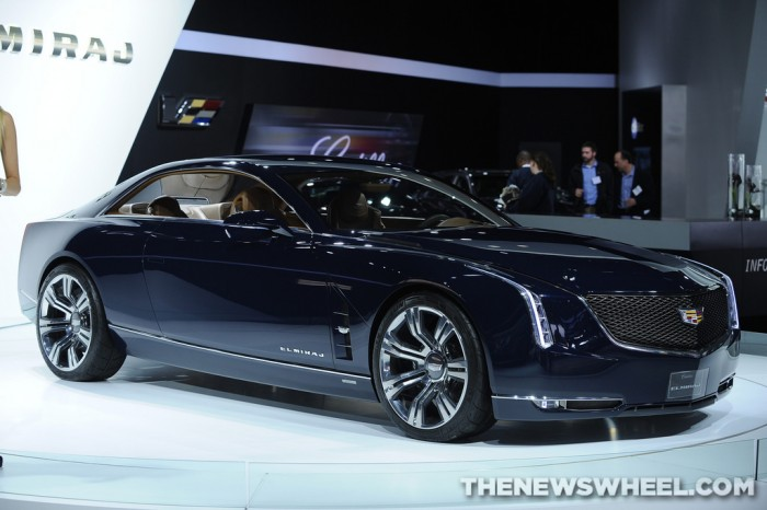 The Cadillac LTS will take design cues from the Elmiraj concept.