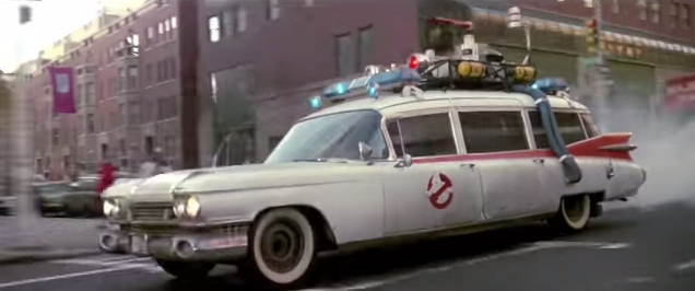 Coolest Cadillacs in Cinema: Ghostbusters Ecto-1