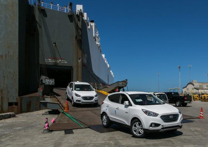 Hyundai Tucson Fuel Cell vehicle - May Hundai Sales
