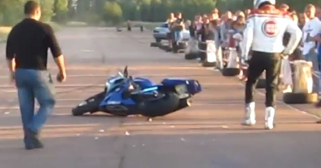 Motorcycle Drag Racer