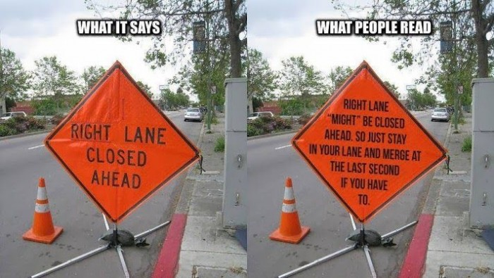best car memes signs