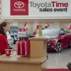 Toyota's pregnant ad star