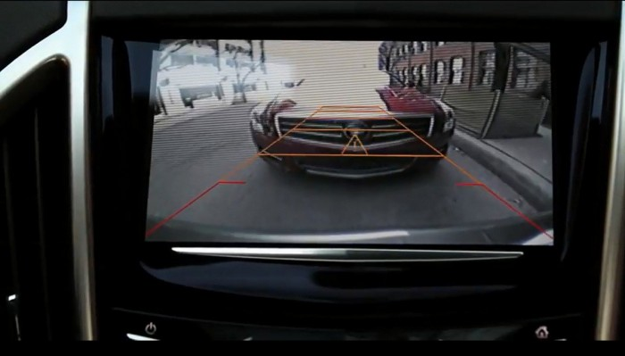 GM back-up camera to keep aging drivers safe