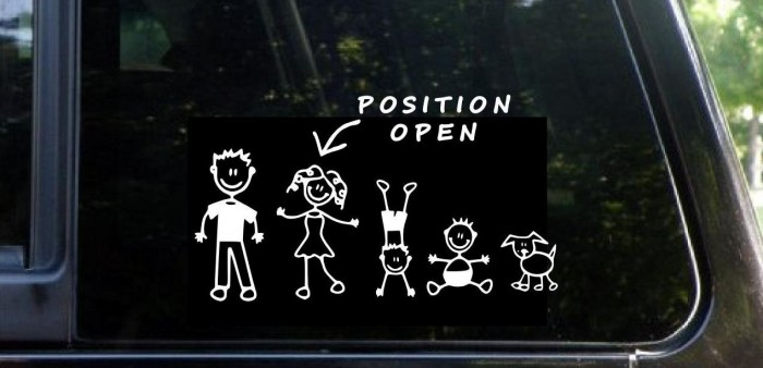 Police are advising families to remove stick figure decals, as well as other signs of family life.