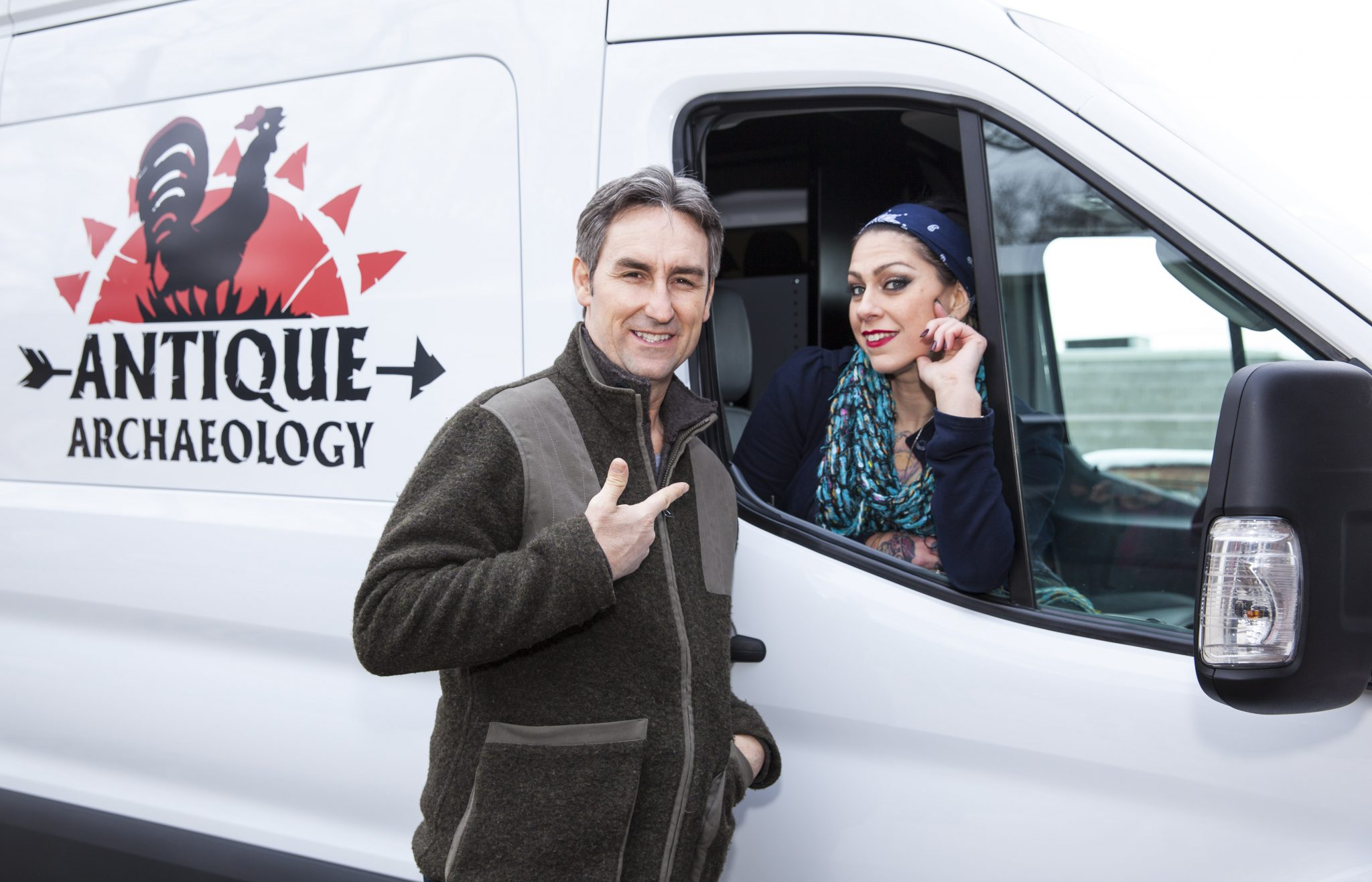 American Pickers Adds 2015 Ford Transit To Cast The