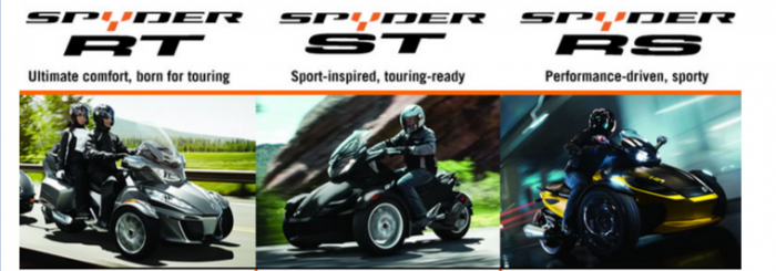 Can-Am Spyder Styles