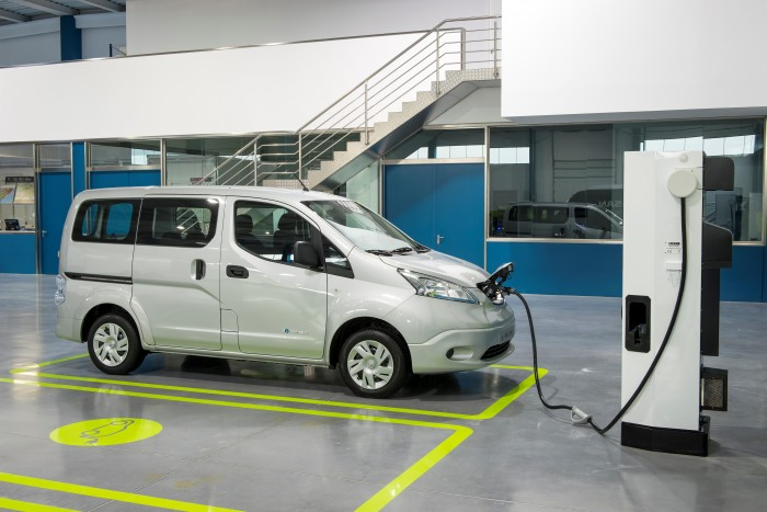 Nissan e-NV200 Global Production