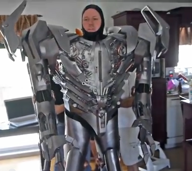 Silverbolt Costume